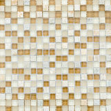Elegant stone wall from small square parts Stock Photography