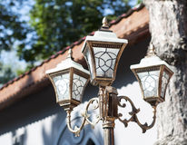 Elegant street lamp Royalty Free Stock Photo