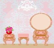 Elegant style dressing room Stock Photo