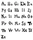 Elegant style font set Vector 15. Elegant style font set Vector illustration vector illustration