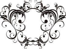 Elegant style frame Stock Images