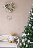 Elegant style interior decoration elements Royalty Free Stock Images