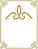 Elegant and stylish border frame Royalty Free Stock Photo