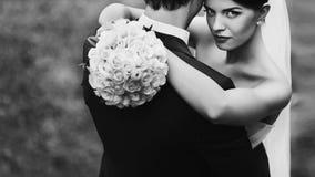 Elegant stylish young couple Stock Image