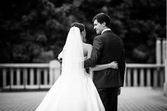Elegant stylish young couple Stock Photography