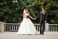 Elegant stylish young couple Stock Photo