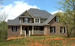 Elegant suburban house