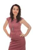 Elegant successful woman Stock Images