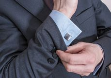 Elegant Suit for Business Stock Images
