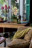 Elegant Sun Room Stock Image
