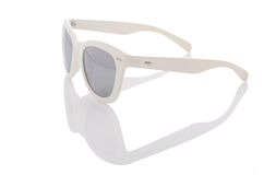 Elegant sunglasses  on the white Stock Image