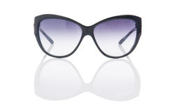 Elegant sunglasses  on the white Royalty Free Stock Photography