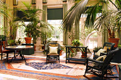 Elegant Sunroom Royalty Free Stock Images