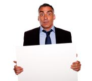 Elegant surprised business man Royalty Free Stock Photos