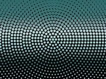 Elegant svart bakgrund med att skina, glödande cirklar, prickar Neon, ledd abstrakt modell av ljus och bokeh stock illustrationer