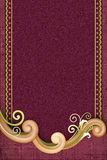 Elegant Swirl with Dark Background Stock Images