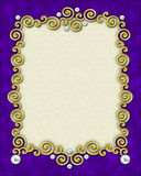Elegant Swirl Frame Royalty Free Stock Photo