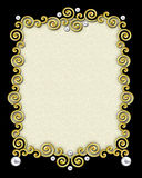 Elegant Swirl Frame Royalty Free Stock Photos
