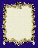 Elegant Swirl Frame Royalty Free Stock Image