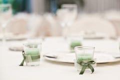 elegant tabell Fotografering för Bildbyråer