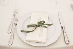 Elegant Table Stock Photo
