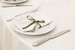 Elegant Table Royalty Free Stock Image