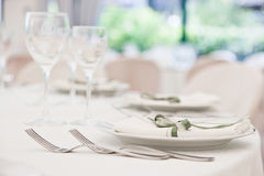 Elegant Table Stock Image