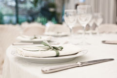 Elegant Table Royalty Free Stock Images