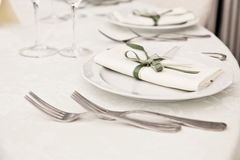 Elegant Table Royalty Free Stock Photo