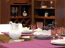 Elegant table Royalty Free Stock Photos