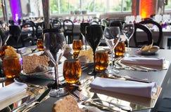 Elegant Table Set Decoration, Party, Event, Wedding royalty free stock photos