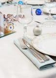 Elegant Table Setting Stock Image