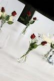 Elegant table setting. Royalty Free Stock Image