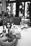 Elegant table setting Royalty Free Stock Images