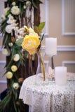 Elegant Table Setting Stock Photography