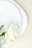 Elegant tableware Royalty Free Stock Photos