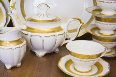 Elegant tableware set Stock Images