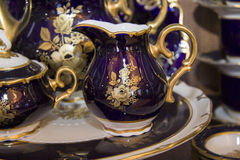 Elegant tableware set Stock Photos