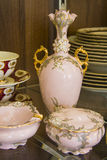 Elegant tableware set Stock Photography
