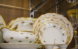 Elegant tableware set Royalty Free Stock Image