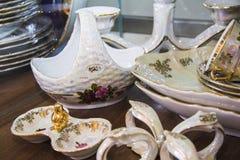 Elegant tableware set Stock Images