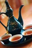 elegant tea Arkivfoto