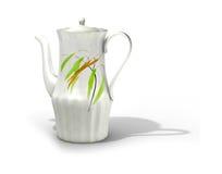 elegant teapot Fotografering för Bildbyråer