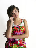 Elegant teenager girl Royalty Free Stock Photos