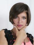 Elegant teenager girl Stock Image