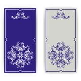 Elegant template for greeting card, invitation Royalty Free Stock Photo