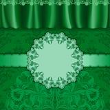 Elegant template luxury invitation Stock Image