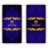 Elegant template for vip luxury invitation Stock Photo