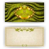 Elegant template for vip luxury invitation Royalty Free Stock Photo