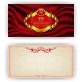 Elegant template for vip luxury invitation Stock Images